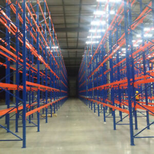 We have one of the largest stock of pallet racking in GTA