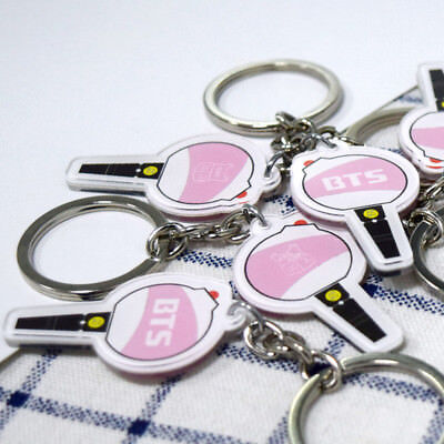 KPOP BTS Keychain Bangtan Boys Jung Kook Keyring Jimin Rap Monster For ARMY Gift