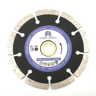 7 Segmented Diamond Saw Blade Cutting Discs Concrete Stone For Angle Grinder