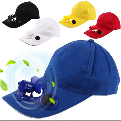 Solar Power Hat (2019 Summer Outdoor Hat Cap with Solar Sun Power Cool Cooling Fan &Hip-Hop Hat)