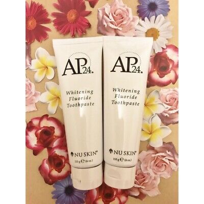 Nuskin Authentic AP24 Whitening Fluoride Toothpaste Pack of 2 [US]