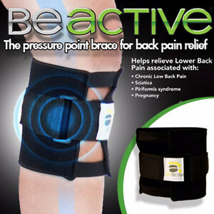 Be active - pressure point wrap helps reduce lower back paid - 2