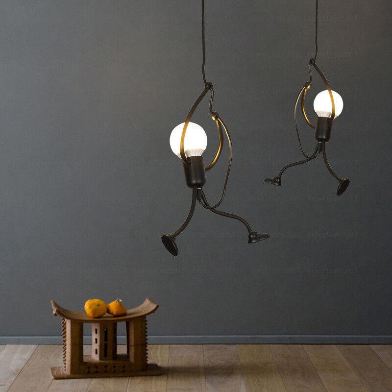 Verwonderlijk Art Robot Villain Pendant Lamps Simple Creative Design Iron Light VY-04