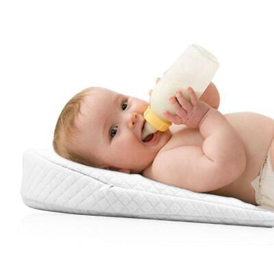 Newborn Baby Anti-Spit Milk Wedge Memory Foam Pillow Infant Reflux Sleeping Crib