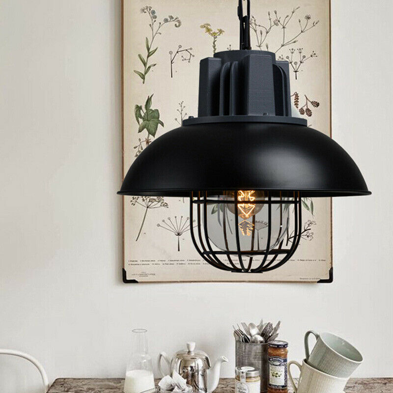 Nautical Pottery Barn Pendant Light With Bowl Dome Shade