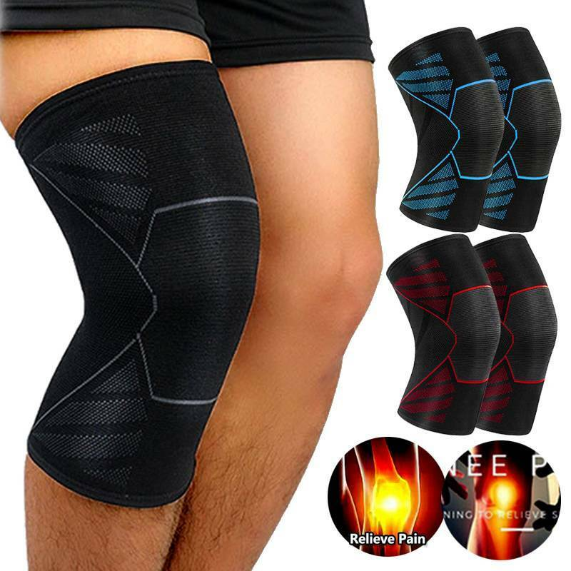 Copper Knee Sleeve Compression Brace Support Sport Joint Pai