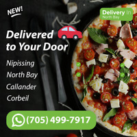 Get restaurant food delivered - even if you live out of town!