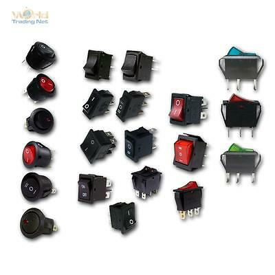 Wippschalter Einbauschalter Schalter mit Wippe Wippenschalter switch rund eckig online kaufen