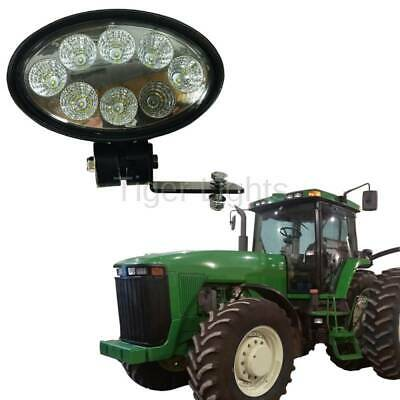 Led Oval Tractor Light Tl8001 - Fits John Deere Oem Re154906 Re63958