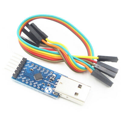 Cp2104 Usb 6pin Uart Serial Converter Stc Prgmr Replace Cp2102 2.0 To Ttl Ass