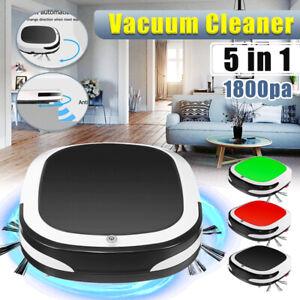 5In1 Smart Auto Vacuum Cleaner Robot Robotic Floor Sweeping Clean Sweeper  - ·