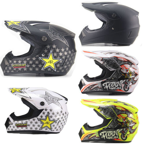 Men Motorcycle Helmet off-road Full Face Helmet Mountain Roa
