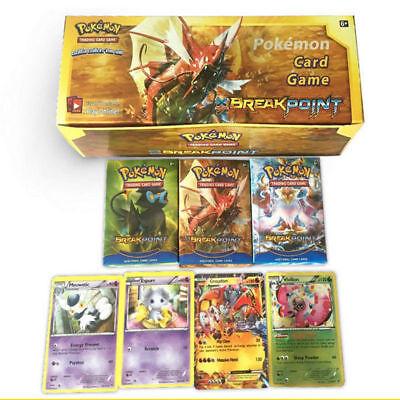 17PC Pokemon English Bulk Lot Pocket Monster Trading Game Cards EX MEGA CARD
