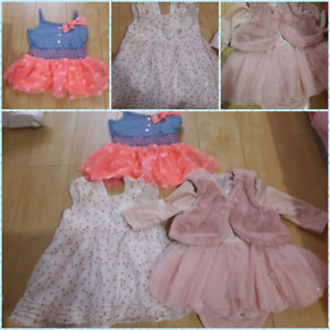 Baby Girl's clothing (Very Gently Used)