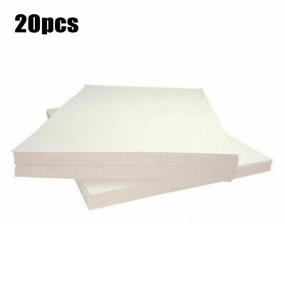 20pcs Sublimation Sheet Iron On Heat Press Transfer Paper Inkjet T-shirt Print