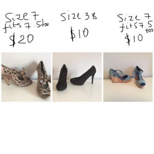 Footwear, new and used