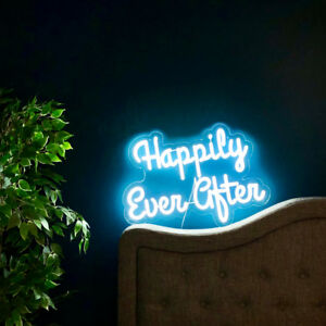 Happily Ever After LED neon sign for wedding or bridal showers