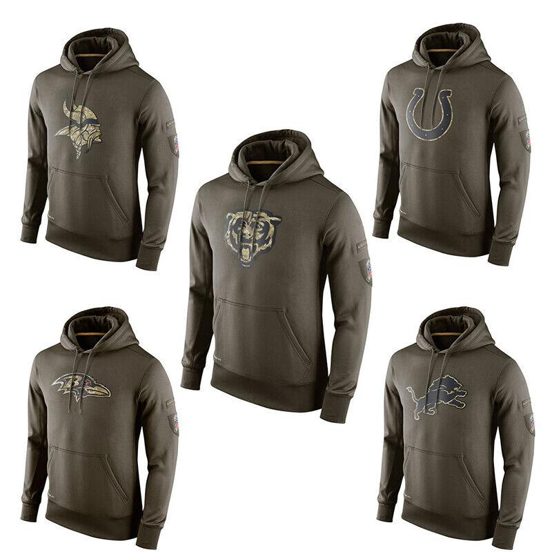 NFL Herren pullover Football Team Sweatshirt Salute to Service Sideline hoodie