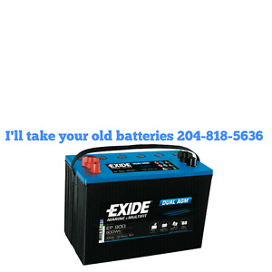 Old batteries don't want them I'll take them.