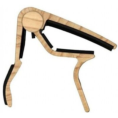 Dunlop Guitar Capo  Acoustic  Maple Trigger Capo Curved