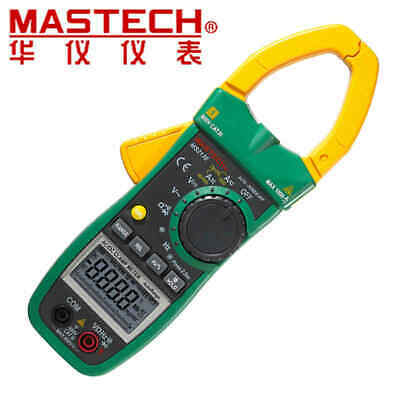 Mastech Ms2138 Acdc Voltage Current Clamp Meter Cyclecap Tester Auto Range
