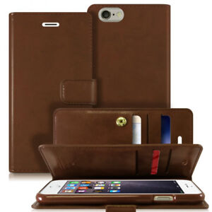 Brown Wallet Case for iPhone 6