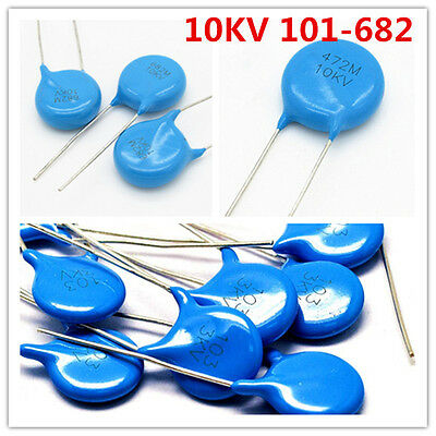 10kv 102 103 221 222 331 332 471 472 681 101-682 High-voltage Ceramic Capacitor