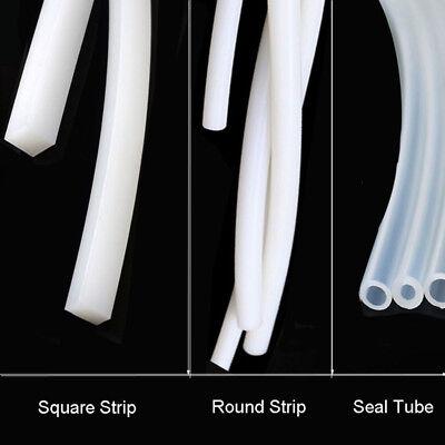 Seal Car Door Equipment Instrument Silicone Flexible Tube High Temp Soft Strip