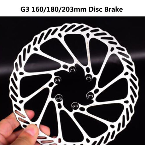 MTB Bicycle Disc Brake 160mm//180mm//203mm Bike  Rotor For Sram Give away 6 Bolts