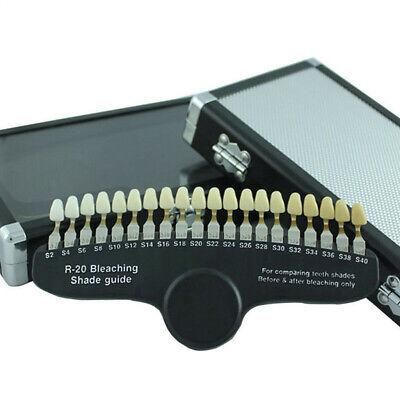 Teeth Whitening Dental Shade Guide Bleaching Shadeguide - 20 Colors Education