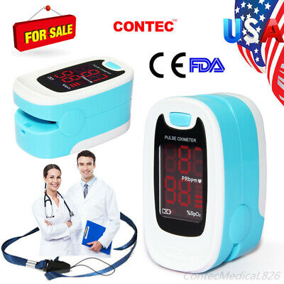 Fingertip Pulse Oximeter Spo2 Pulse Rate Monitor Oxymeter Blood Oxigen Meternew