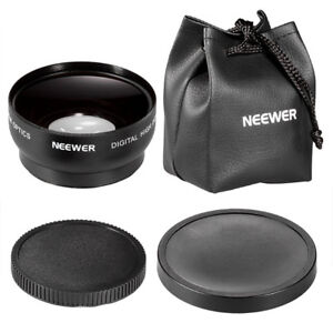 Neewer® 52MM 0.45X Wide Angle High Definition Lens with Macro