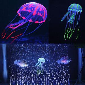 multi couleur m duse artificielle lumineux pour ornement d 39 aquarium de poissons. Black Bedroom Furniture Sets. Home Design Ideas