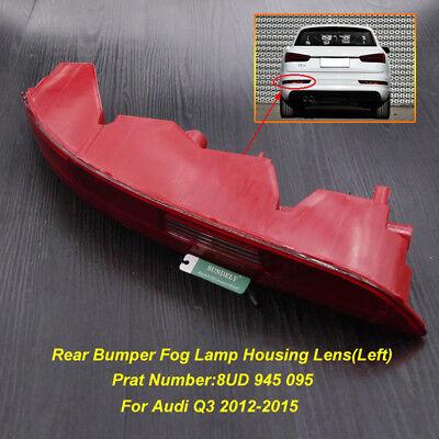Rear Bumper Tail Light Lamp Left Passenger Side For Audi Q3 2012-2015