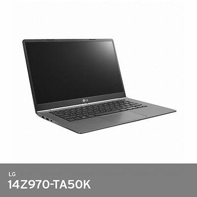 """LG All Day Gram 14"""" 970g Laptop 14Z970-TA50K i5-7200U FHD IPS 8GB DDR4 256GB SSD"""