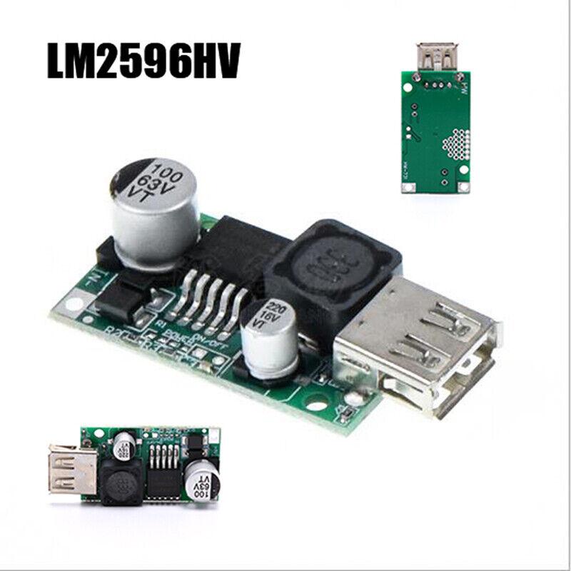 LM2596HV Step Down Converter Module12V/48V To 5V 3A USB Charger MoYR