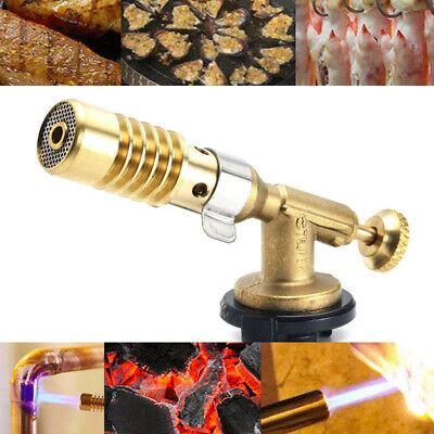 UK Blow Torch Butane Gas Plumbing Torchs High Temperature Welding Brazing Nozzle