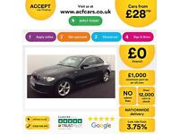 BMW 123 2.0TD 2008MY d SE FROM £28 PER WEEK !