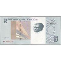 Twn - Angola 151a - 5 Kwanzas 10/2012 Unc - Prefix Ya -  - ebay.it