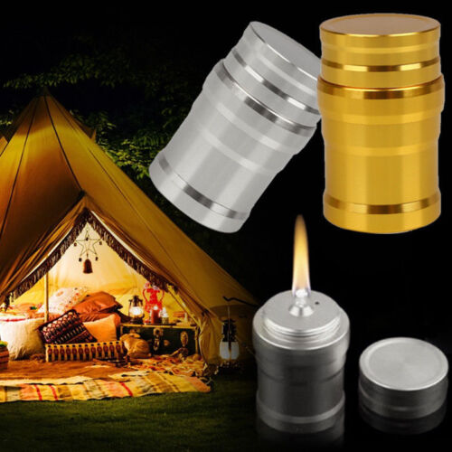 1Pc Portable Mini Alcohol Burner Lamp Metal Case Lab Equipment Heating Tool