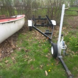 Albacore boat and trailer
