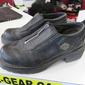 Harley Davidson - Ladies Motorcycle Boots $50 Re-Gear Oshawa