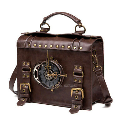 Renaissance Shoulder Bags Medieval Steampunk Cosplay Leather Carnival Party