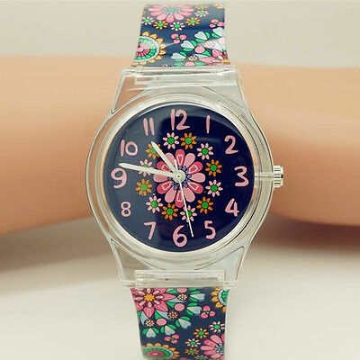 Fashion Women Analog Watch Student Girls Quartz Watch Children Wristwatch Gifts