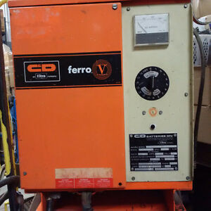 C&D FORKLIFT CHARGER 12V 6 CELL 575V FERRO 5 ELTRA ELECTRIC