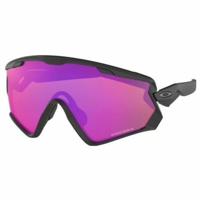 Oakley Wind Jacket 2.0 Sunglasses OO9418-1145 Matte Black Prizm Trail Lens