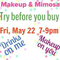 Makeup and mimosa party with younique products!!