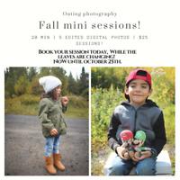 Fall mini session!!