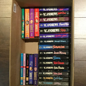 30 V.C. Andrews paperback novels for sale