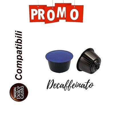 100 Cialde Capsule Caffe Compatibili Nescafè Dolce Gusto Decaffeinato Dec Deca